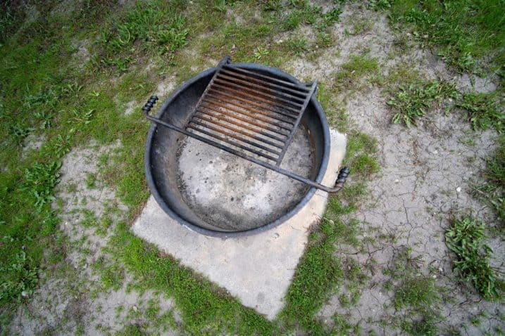 What to Put Under a Fire Pit on Grass - everymanscave.com