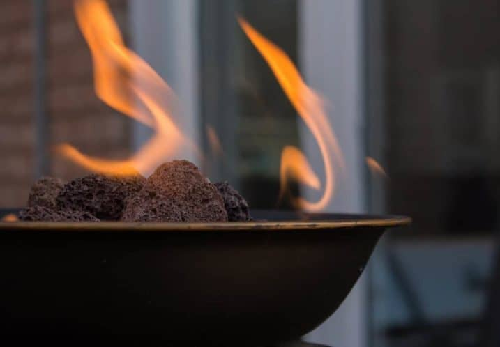 How to Use Lava Rocks for a Fire Pit - everymanscave.com