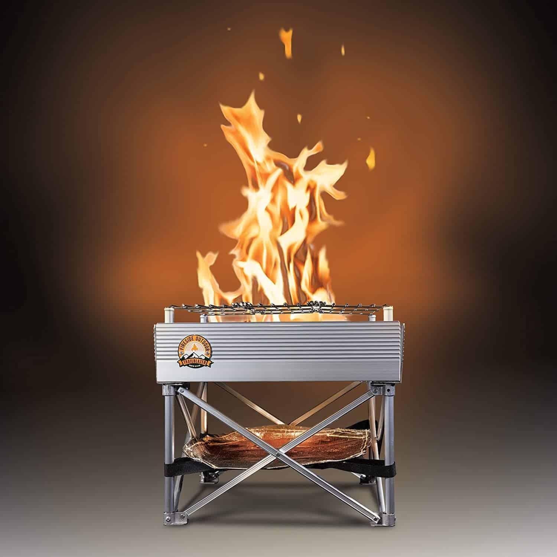 Trailblazer camp fire pit - everymanscave.com