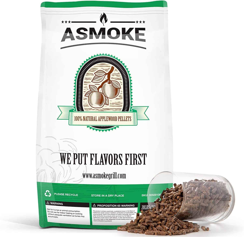 ASMOKE APPLEWOOD SMOKING PELLETS - everymanscave.com
