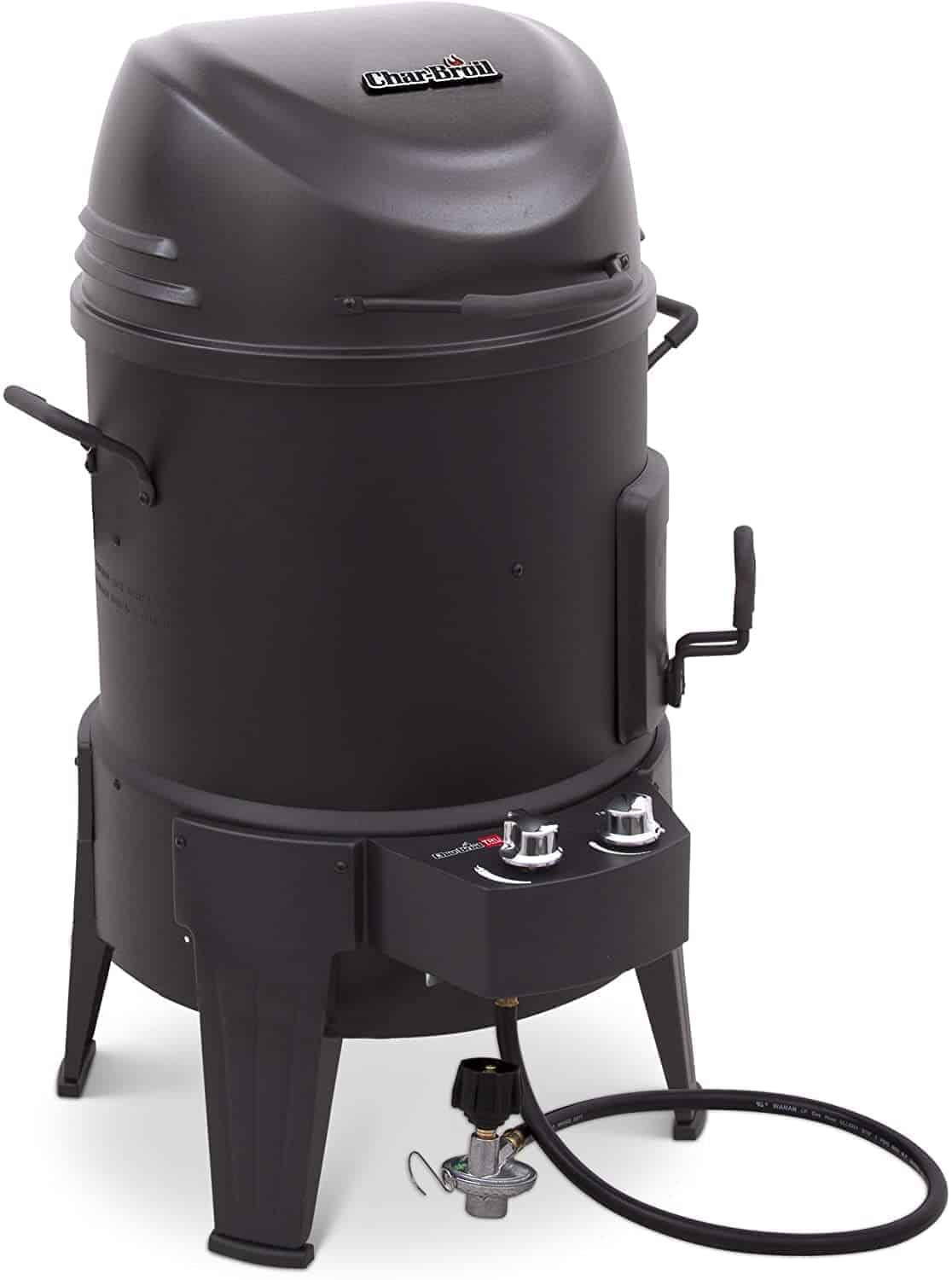 Char-Broil Big Easy TRU-Infrared Grill and Smoker Combo - everymanscave.com