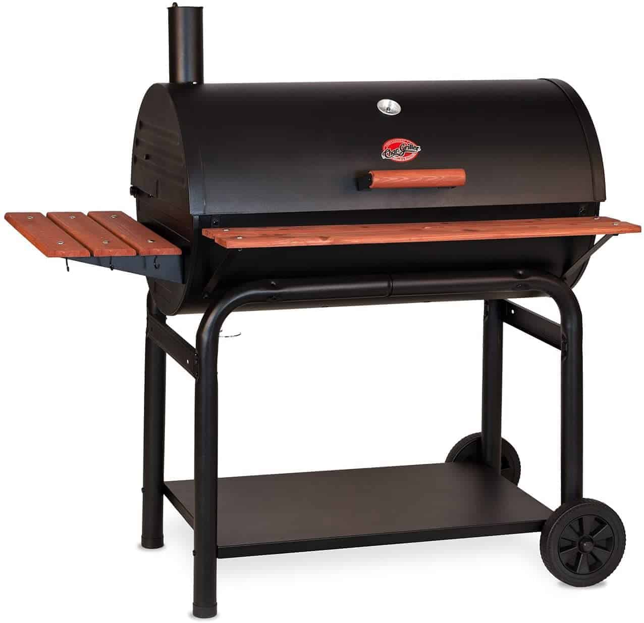 Char-Griller Outlaw Charcoal Grill and Smoker - everymanscave.com