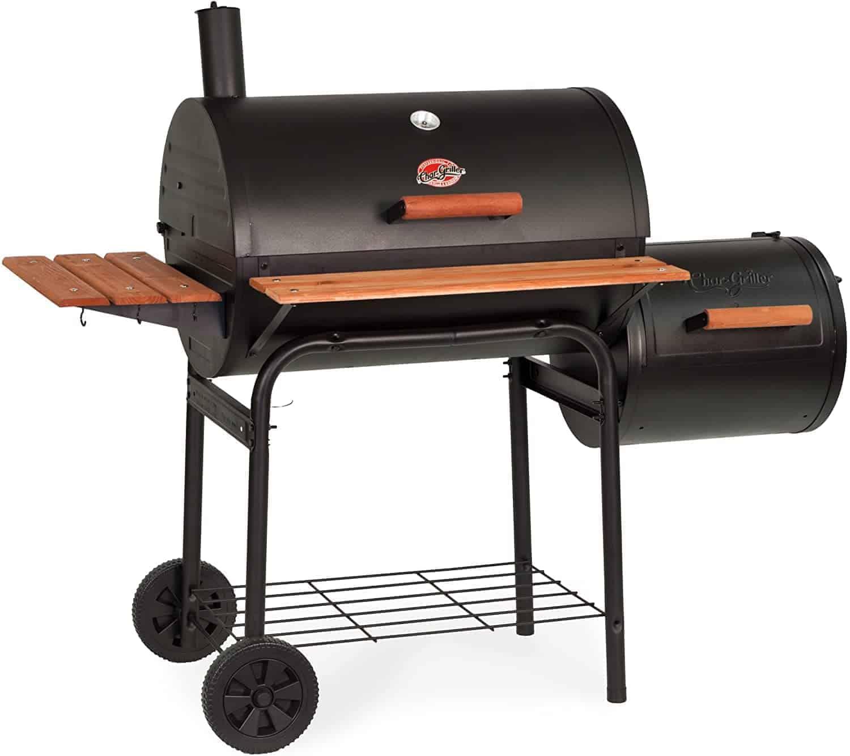 Char-Griller Smokin Pro w Side Fire Box - everymanscave.com
