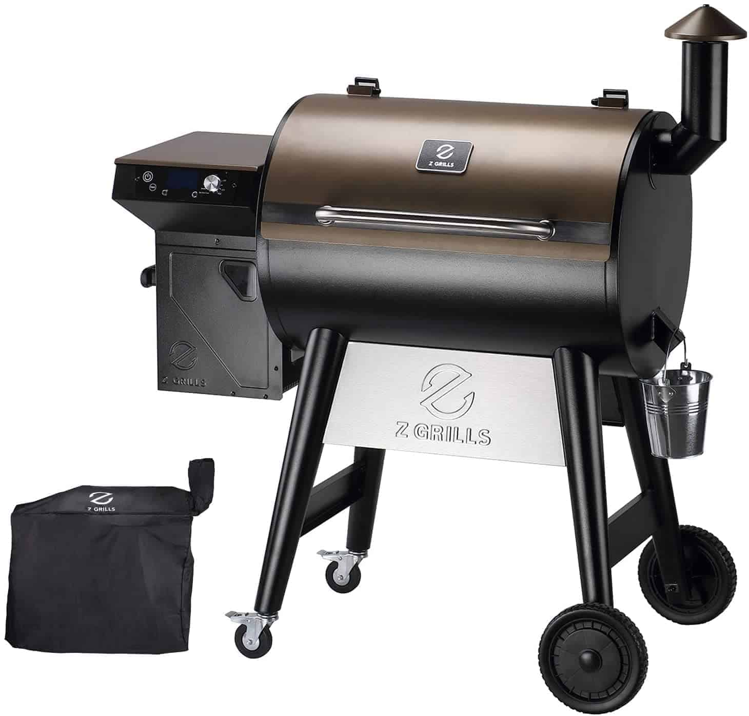 Z Grills 7002F Grill and Smoker Combo - everymanscave.com