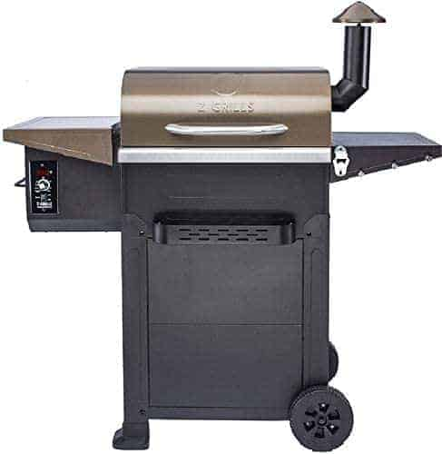 Z Grills Wood Pellet Grill and Electric Smoker Combo