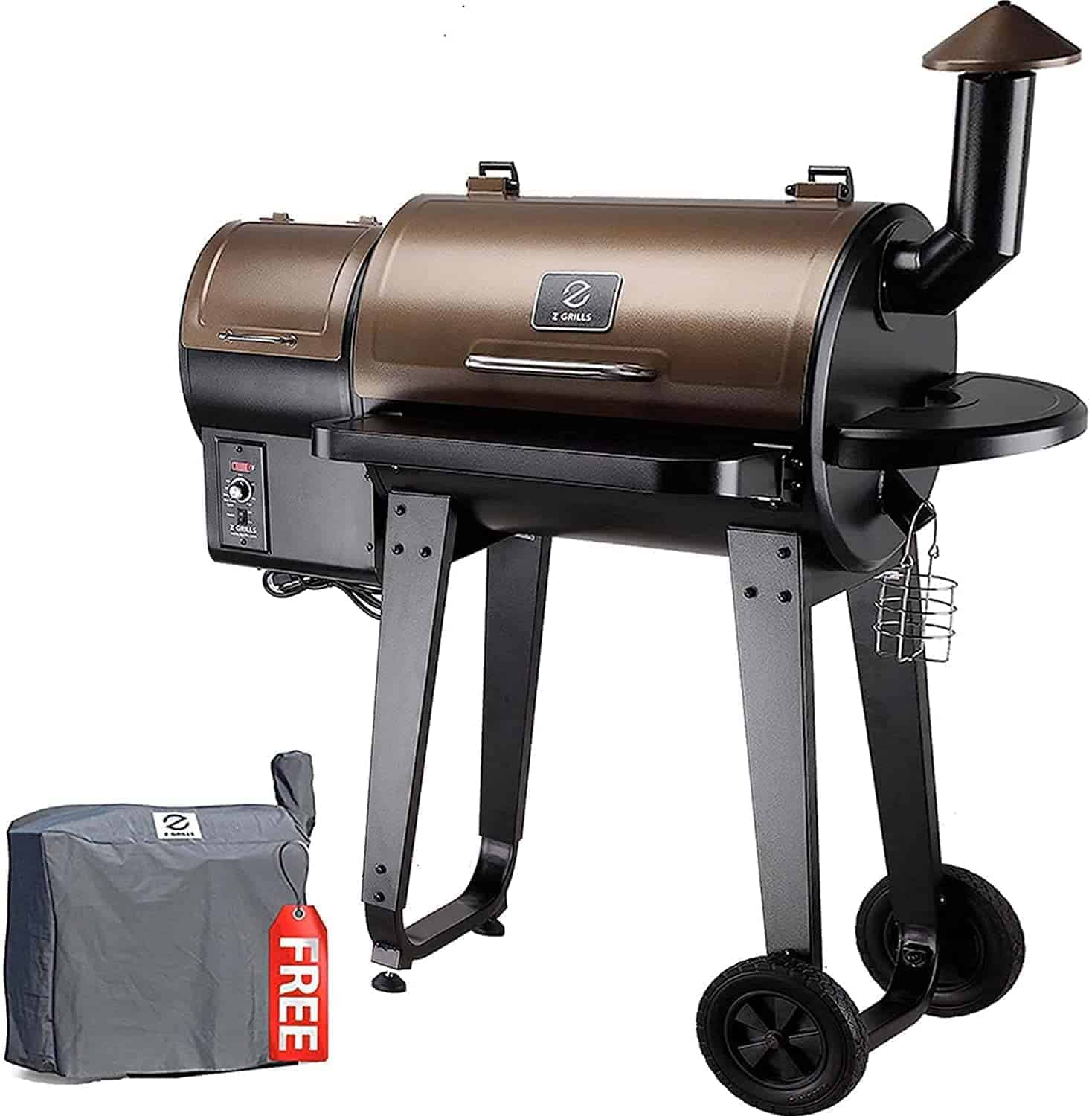 Z Grills Wood Pellet Grill and Smoker Combo - everymanscave.com